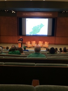 John Grenham from The Irish Times presenting at iFest in Boston, Ma on Sept, 28th, 2014.